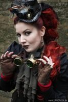 Lady Steam Punk III by MADmoiselleMeli