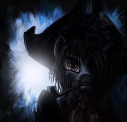Pipsqueak: The Pirate by averagedraw