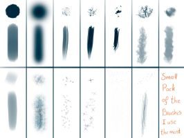 photoshop brushes by SasjaAnne
