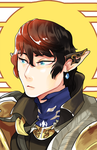 Aymeric of the blue by Nozominn