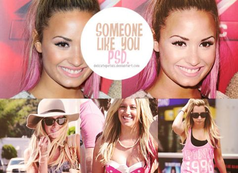 someone like you psd by delicatepetals