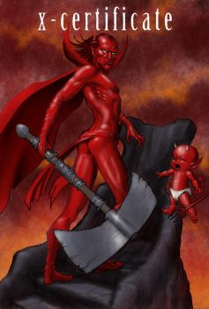 TLIID - male characters in feminine poses Mephisto by Nick-Perks