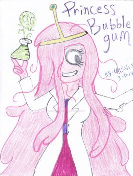 BUBBLEGUM SCIENCE!!!! by IluvsFlippynya