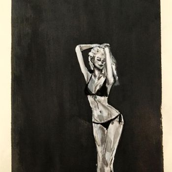 Pose Study by kirstenmarquisart