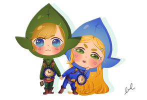 Breath of the Chibi Tingles by xMurmaid