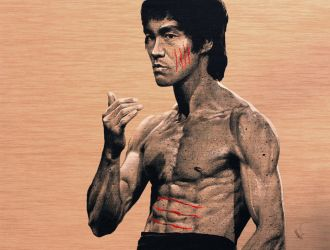 Bruce Lee by Flashback33