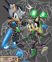 Rivals Shard and Nina by Strykeforce2005
