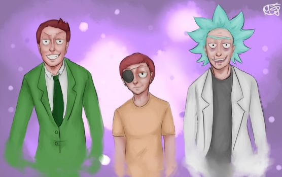 Are We The Bad Guys? - Evil!Rick and Morty by Majoh801