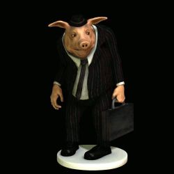 Biz Pig from Pigmalion Galactic Corporation by westcat