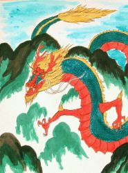 Globalization: American Dragon by EclecticEcho
