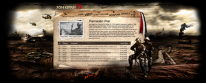 yom kippur war WEBSITE sooooon by REDFLOOD