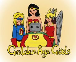 DC Comics: Golden Age Girls by Selecthumor
