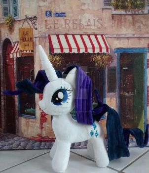 Mlp Rarity Plush by Ponypassions by ponypassions