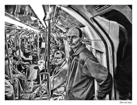 Tube Faces BnW by slim-mer