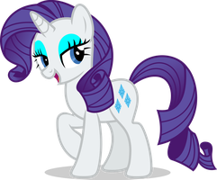 Mlp Fim Rarity (...) vector #4 by luckreza8