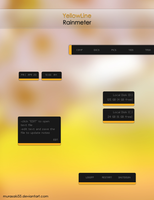 YellowLine Rainmeter by murasaki55
