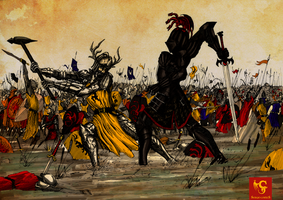 The Battle of the Trident by Reaprycon
