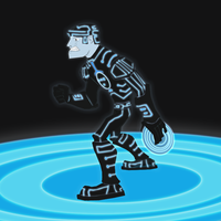 Fan Art Friday - Tron by KahunaBlair