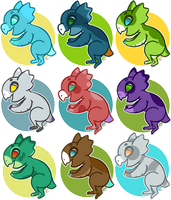 Badges 10-18 by Dri-Bee