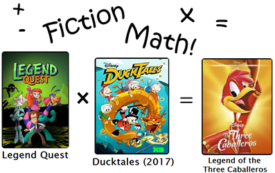 Fiction Math Three Caballeros by The-Doctor-W