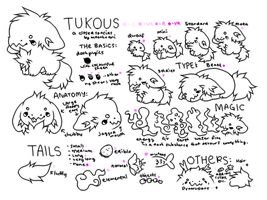 Tukou Species Reference by moonbeani