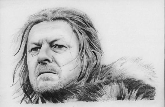 Ned Stark Game of Thrones by BORJICH