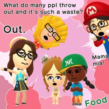 Miitomo - what people throw out by NintendoFanYes