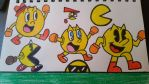 the 7 Pac-Men  by SuperStarfy2002