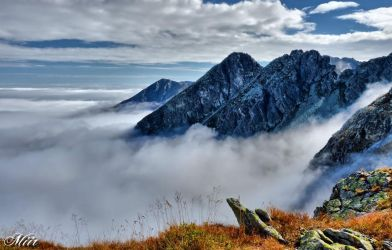 Mountains in the mist - Tatry by miirex