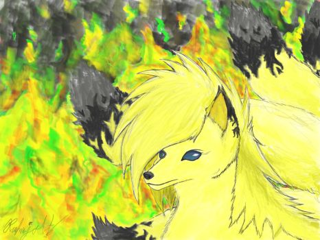 Fire Within - Ninetales by Ruhmjolf
