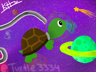 Space Turtle by turtle3334