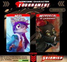 Webcomic Tournament Match 02 by Dreamkeepers