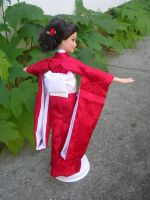 Barbie in a Red Kimono 2 by mrinx