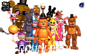 FNaF 2 Pack v2 | Download! ThrPuppet by PuppetFactory