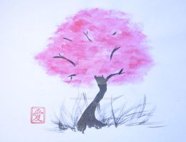 Sakura tree by lifeislikeajoke