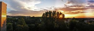 Early summer sunset by ROL4NDesignStudio