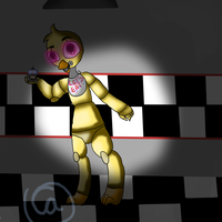 Chica by pokemonfnaf1