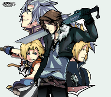Final Fantasy. Dissidia. by akumatei