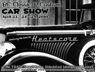 Heatscore Car Show poster 01 by ZigZigler
