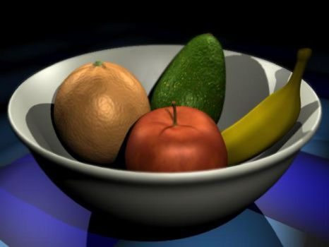 Fruit Bowl by Xeroxed-Animus