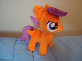 Scootaloo plushy by PlanetPlush