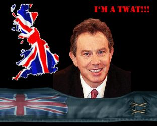 Tony Blair. the man. by theOZmosis