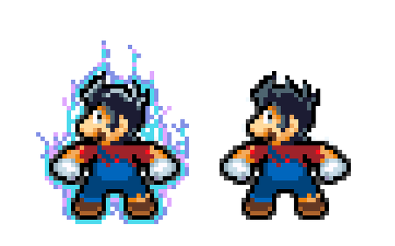 Mario Ultra Instinct by RockMan6493
