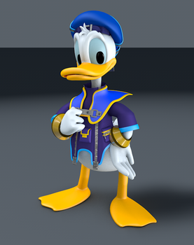 Kingdom Hearts - Donald Duck by TheRPGPlayer