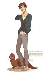 Commission - Otter Guy by MeoMai