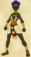 Sekhotep is Dressed for War by TyrannoNinja
