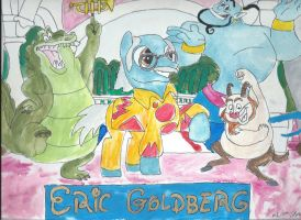 My Little Pony artists Eric Goldberg by merrittwilson