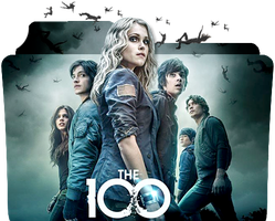 The 100: series folder icon by OdessaAna