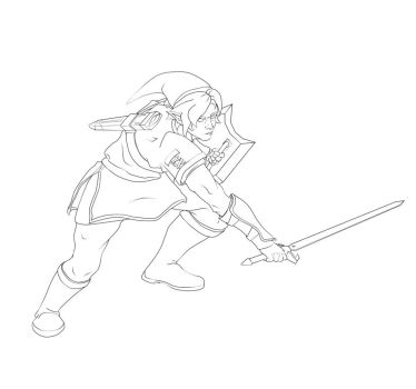 Mr.Link WIP by scottimusprime17