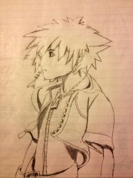 Kingdom Hearts: Sora by leanape09